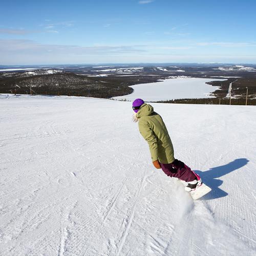 Vroege voorjaar Lapland